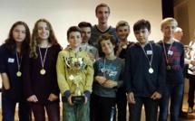 L' Institut Stanislas Champion de France des collèges 2016 !!