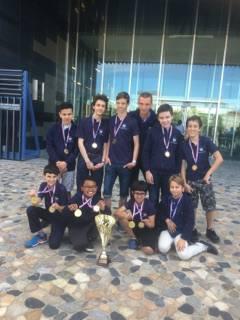 Cannes-Echecs encore sur le podium en Top Jeunes !