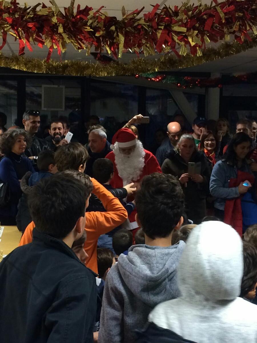 Le Père Noël attire les foules au Pico !