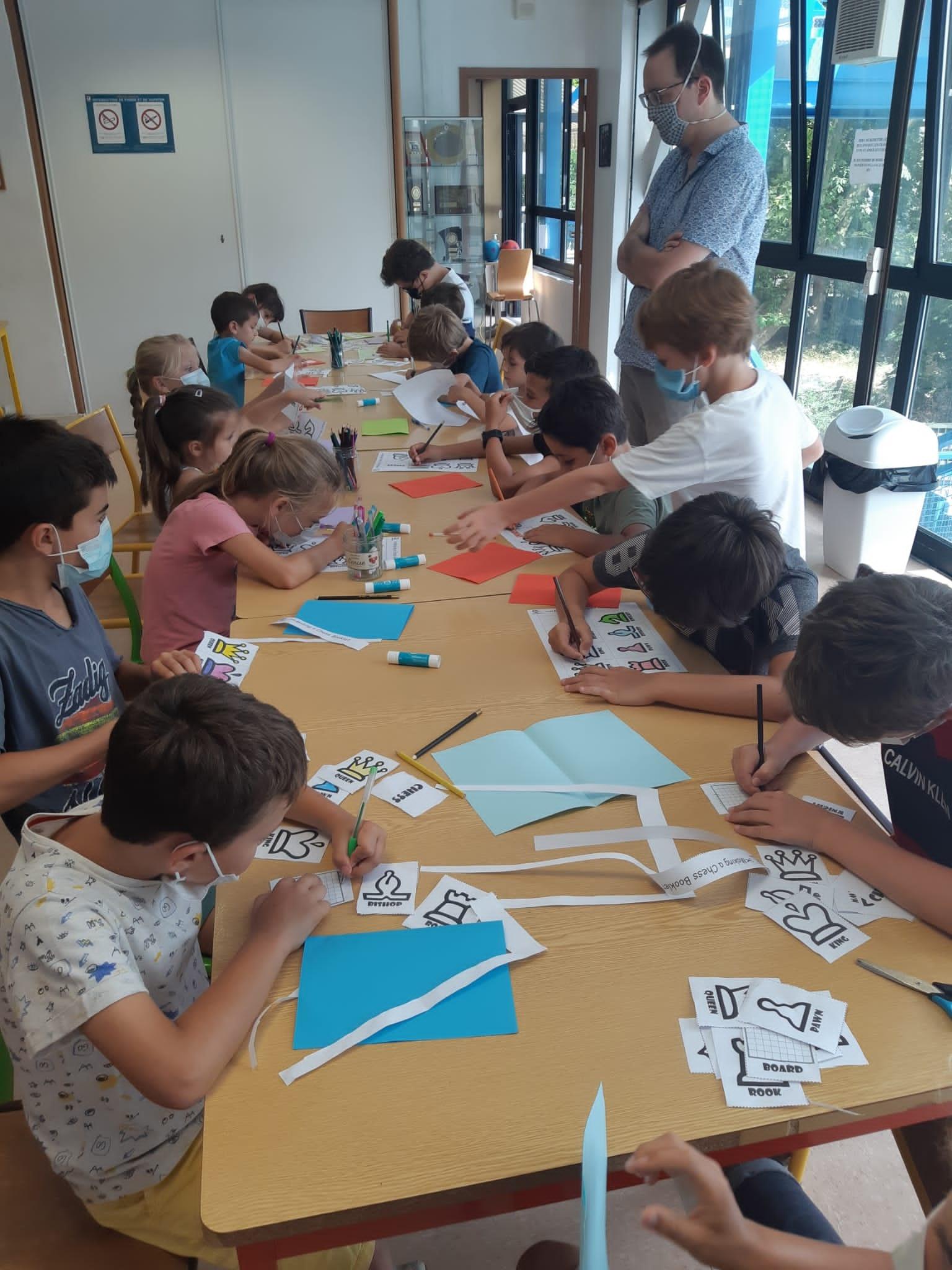 STAGES D'ETE ECHECS & ACTIVITES SPORTIVES ET ARTISTIQUES - ENORME SUCCES AVEC 40 ENFANTS PRESENTS !!