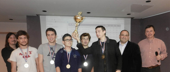 Stanislas Cannes, champion de France des Lycées