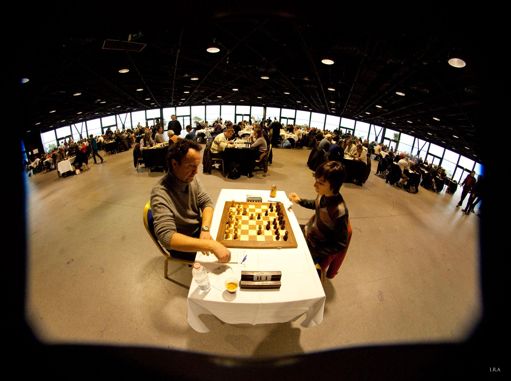 Le Festival des Jeux réuni chaque année près de 400 joueurs dans la Rotonde du Palais des Festivals