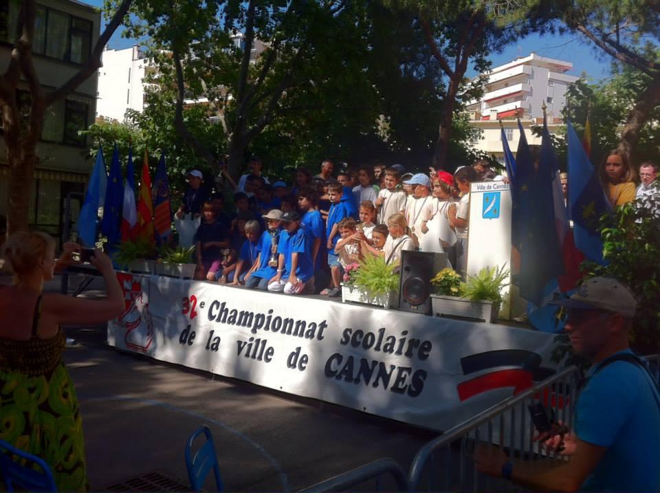 Les échecs dans 50 écoles de Cannes