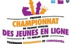 Championnat de France jeunes en ligne: les cannois au top !