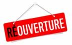 Réouverture du club à partir du 15 décembre (pour les mineurs)