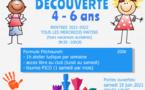 ATELIER DECOUVERTE POUR LES 4-6 ANS A LA RENTREE !