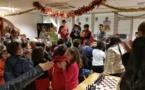 100 enfants aux tournois de Noël!