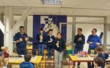 Le podium Masters