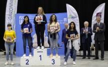 Le podium U16 filles (crédit photo FFE)